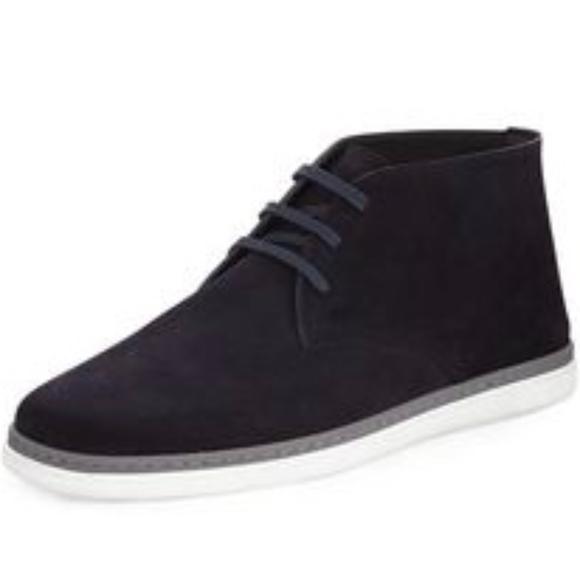 1c54c07ca3005 Ermenegildo Zegna Other - Zegna Newport Perforated Suede Chukka Ankle Boots